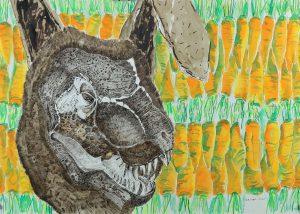 2_Cristi-Gaspar,-A-political-animal,-water-colors-on-paper,-2012