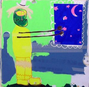 2_Cristi-Gaspar,-Child-dream,-160x160cm,-acylic-on-canvas,-2011