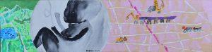 3_Cristi-Gaspar,-Annia's-city,-20x80cm,-acylic-on-canvas,-2015