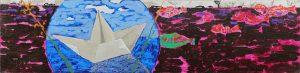 4_Cristi-Gaspar,-Annia's-city,-20x80cm,-acylic-on-canvas,-2015