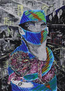 4_Cristi-Gaspar,-Hospital-room-nr.-5---my-doctor,-50x70cm,-acylic-on-canvas,-2018