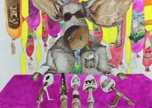 4_Cristi-Gaspar,-Promises,-water-colors-on-paper,-2012