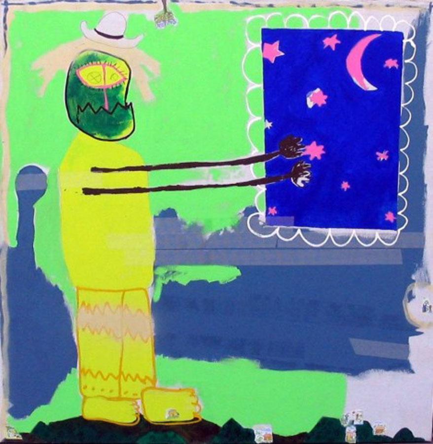 2_Cristi-Gaspar,-Child-dream,-160x160cm,-acylic-on-canvas,-2011