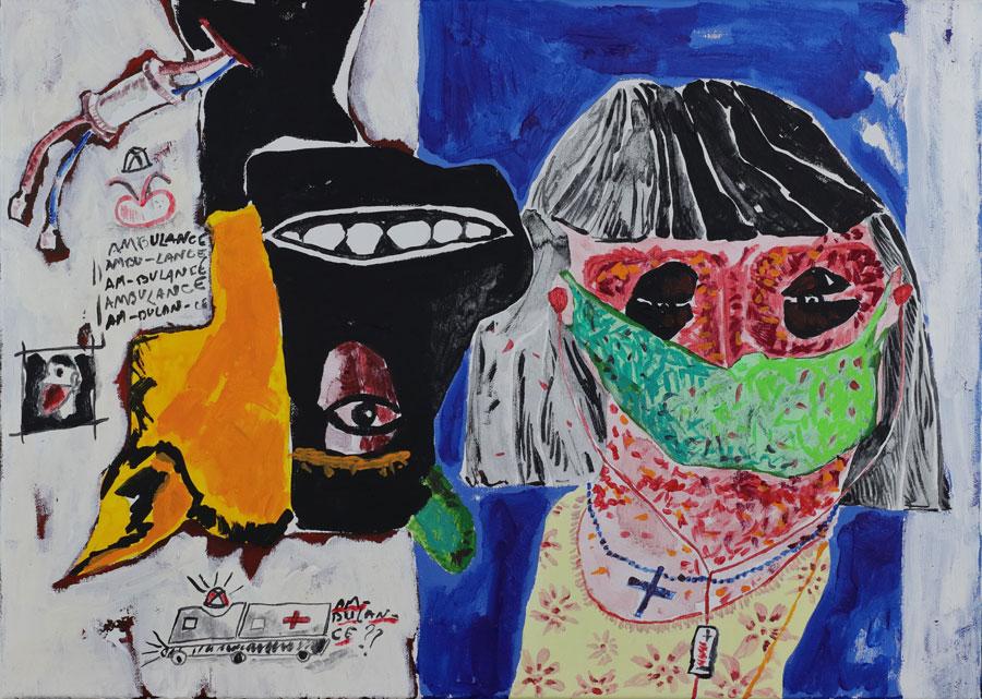 3_Cristi-Gaspar,-Hospital-room-nr.-5,-50x65cm,-acylic-on-canvas,-2018.