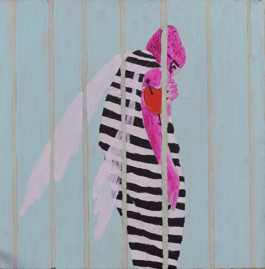 4_-Cristi-Gaspar,-Insectarium,-40x40,-acrylic-on-canvas-2010