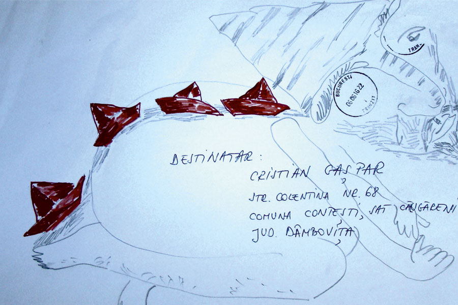 5_-Cristi-Gaspar,-Prioripost-5,-drawing-on-paper-envelope