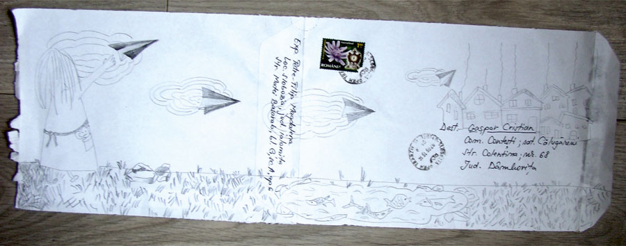 6_-Cristi-Gaspar,-Prioripost-6,-drawing-on-paper-envelope