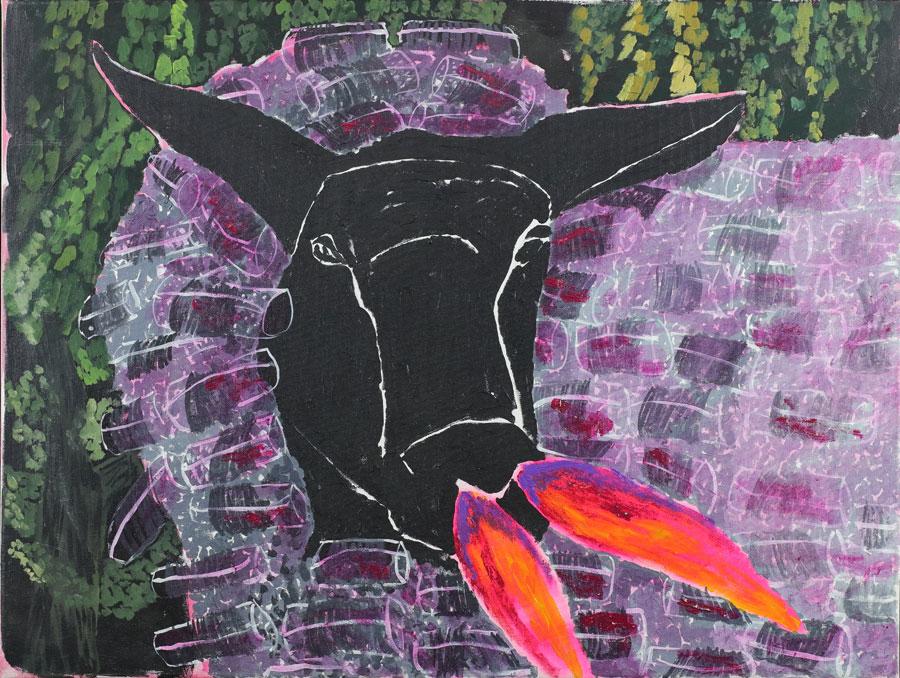 6_Cristi-Gaspar,-Losing-innocence,-50x70cm,-acylic-on-canvas,-2009